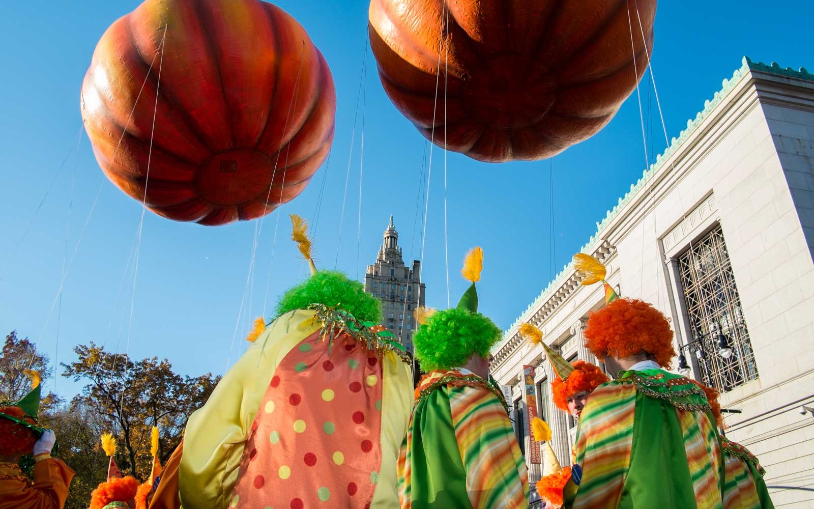 Behind the scenes at the Macy's Thanksgiving Day Parade