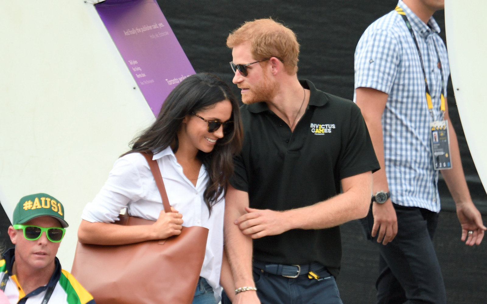 Meghan Markle and Prince Harry engaged.