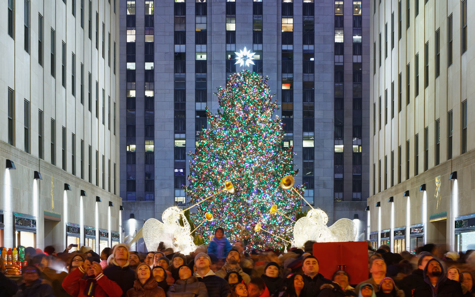 Lighting Of Nyc Christmas Tree 2017
