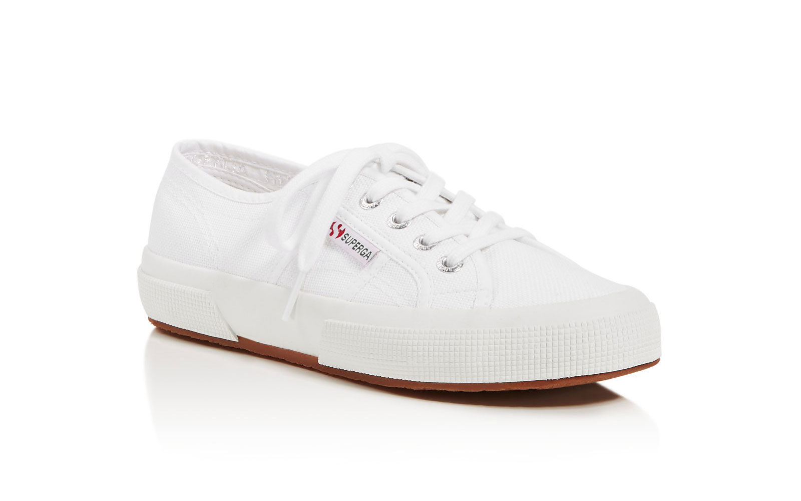 Superga white sneakers