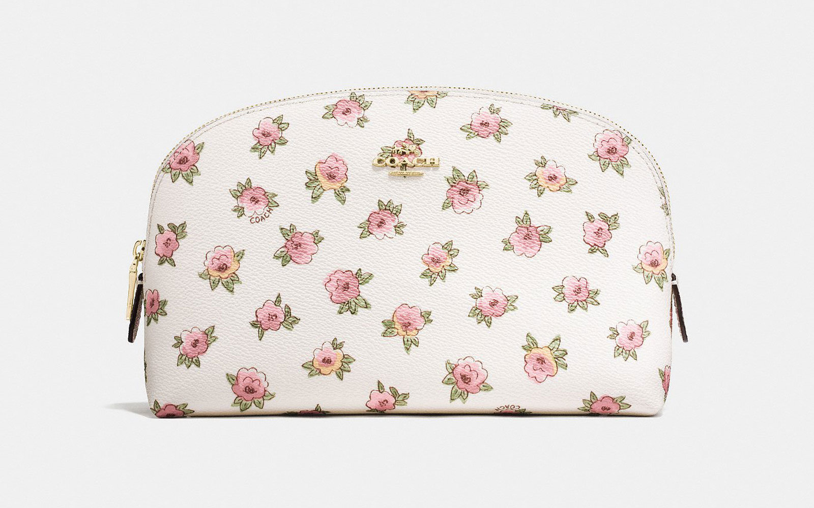 Coach floral accessories bag