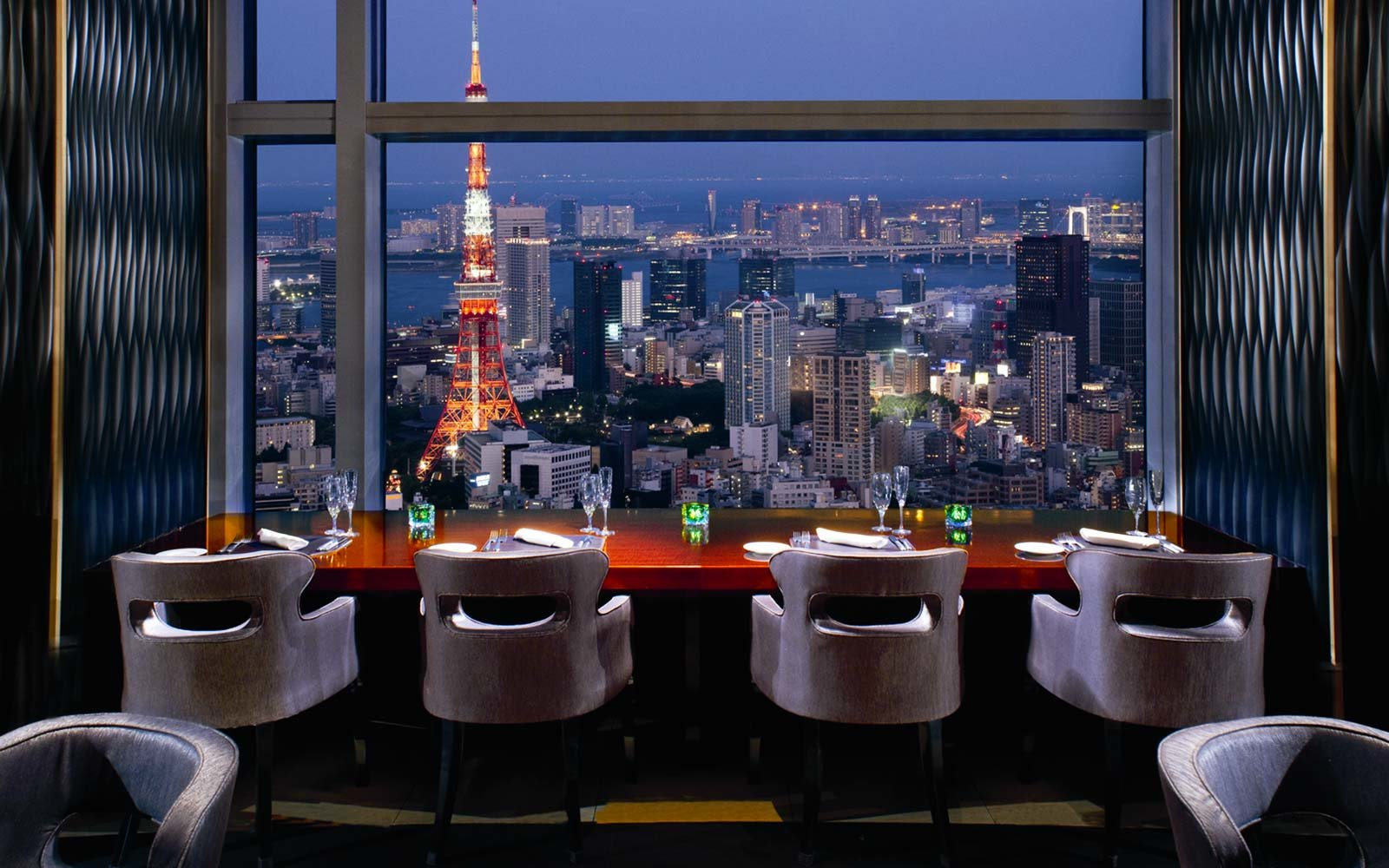 The Ritz Carlton Tokyo Japan Bar Restaurant Dining
