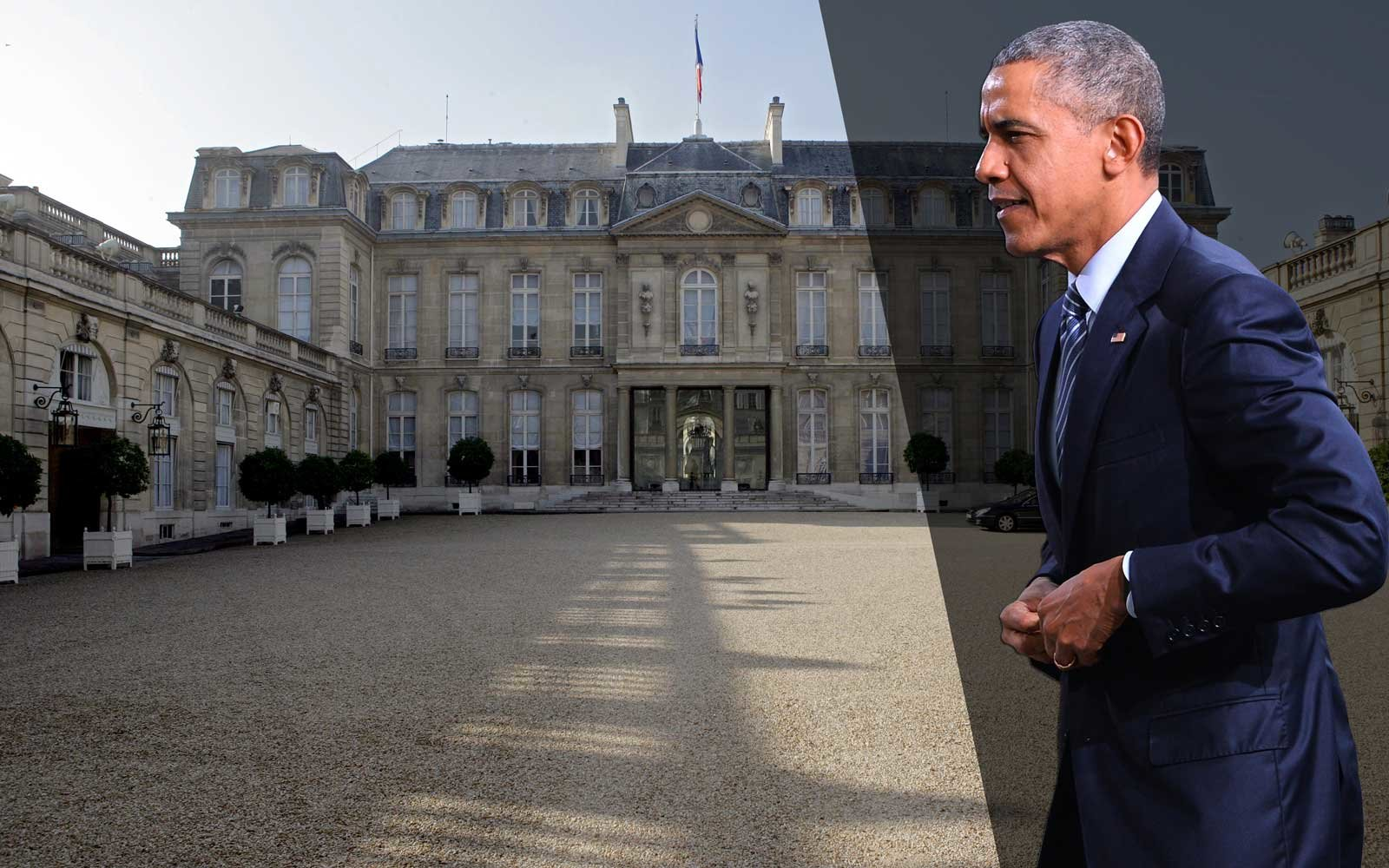 Obama Is on a Five-day World Tour and His Next Stop Is Paris