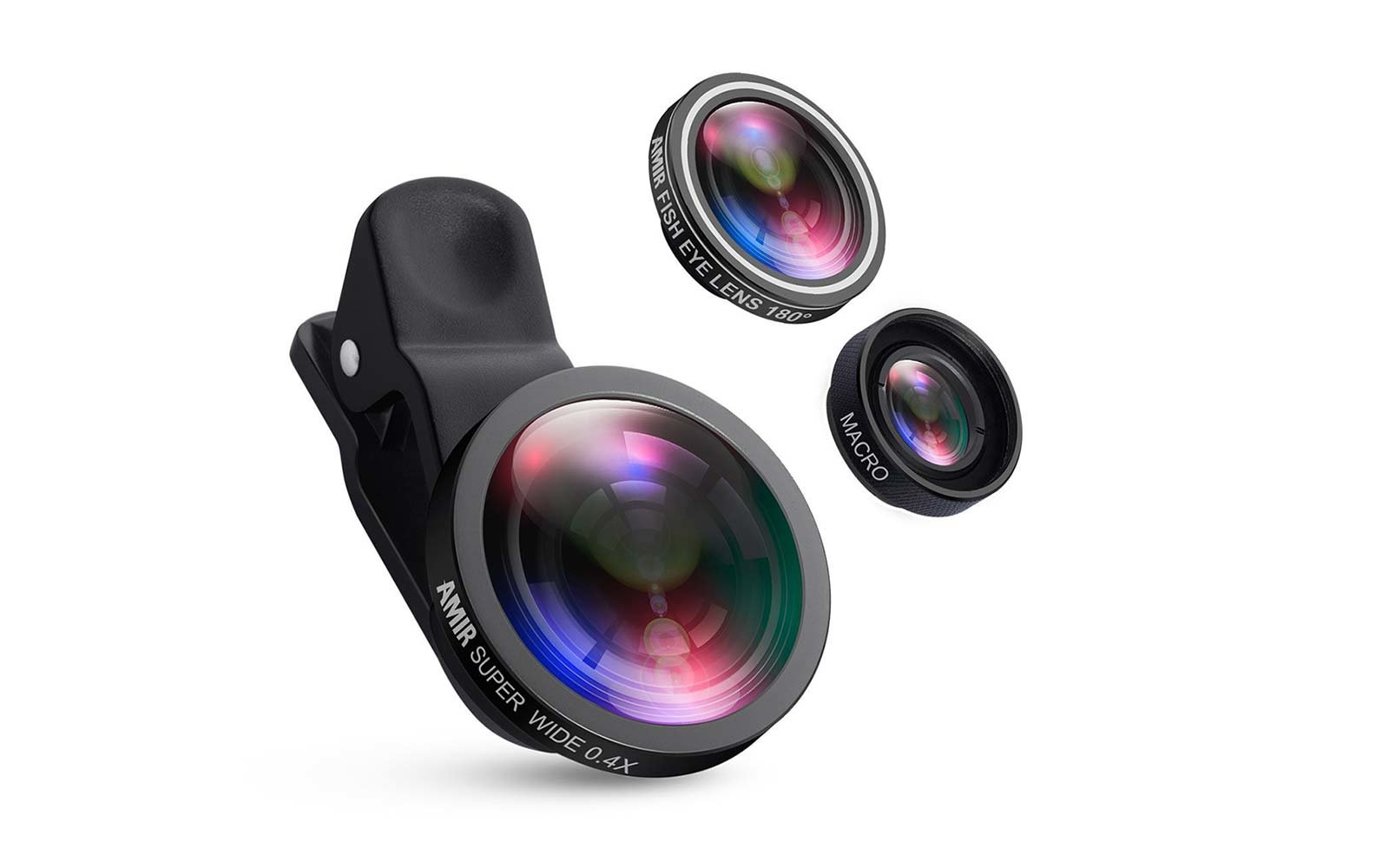 AMIR 3-in-1 Camera Phone Lens Kit