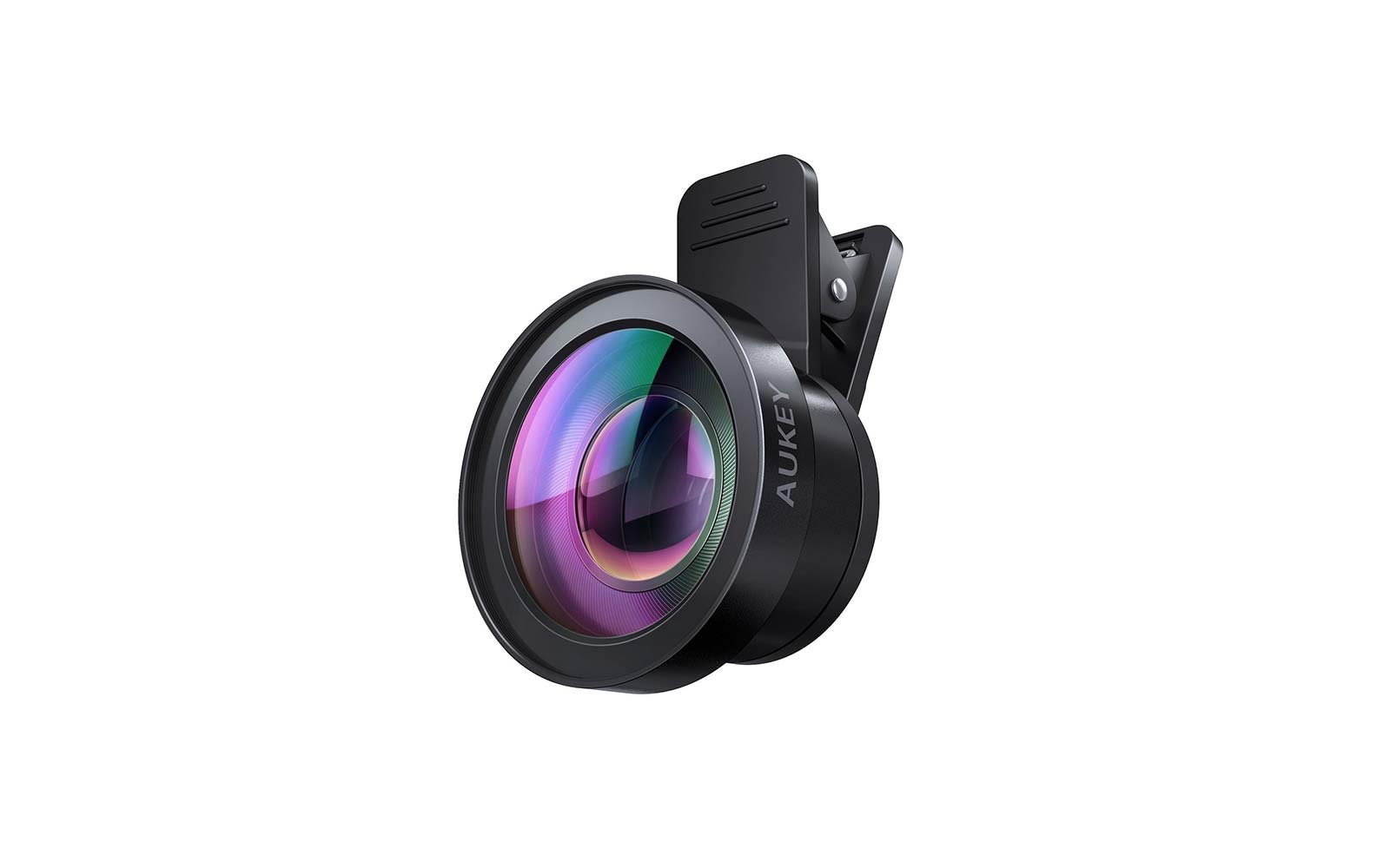 Aukey Ora Wide Angle and Macro Clip On Camera Phone Lens