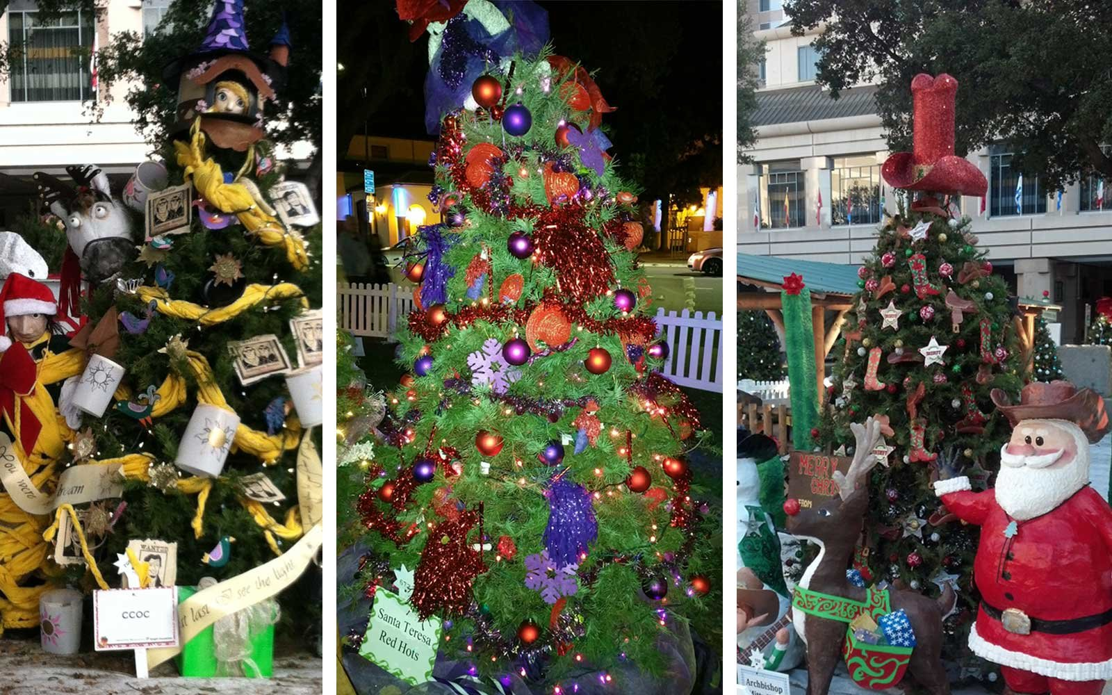 San Jose California Christmas in the park
