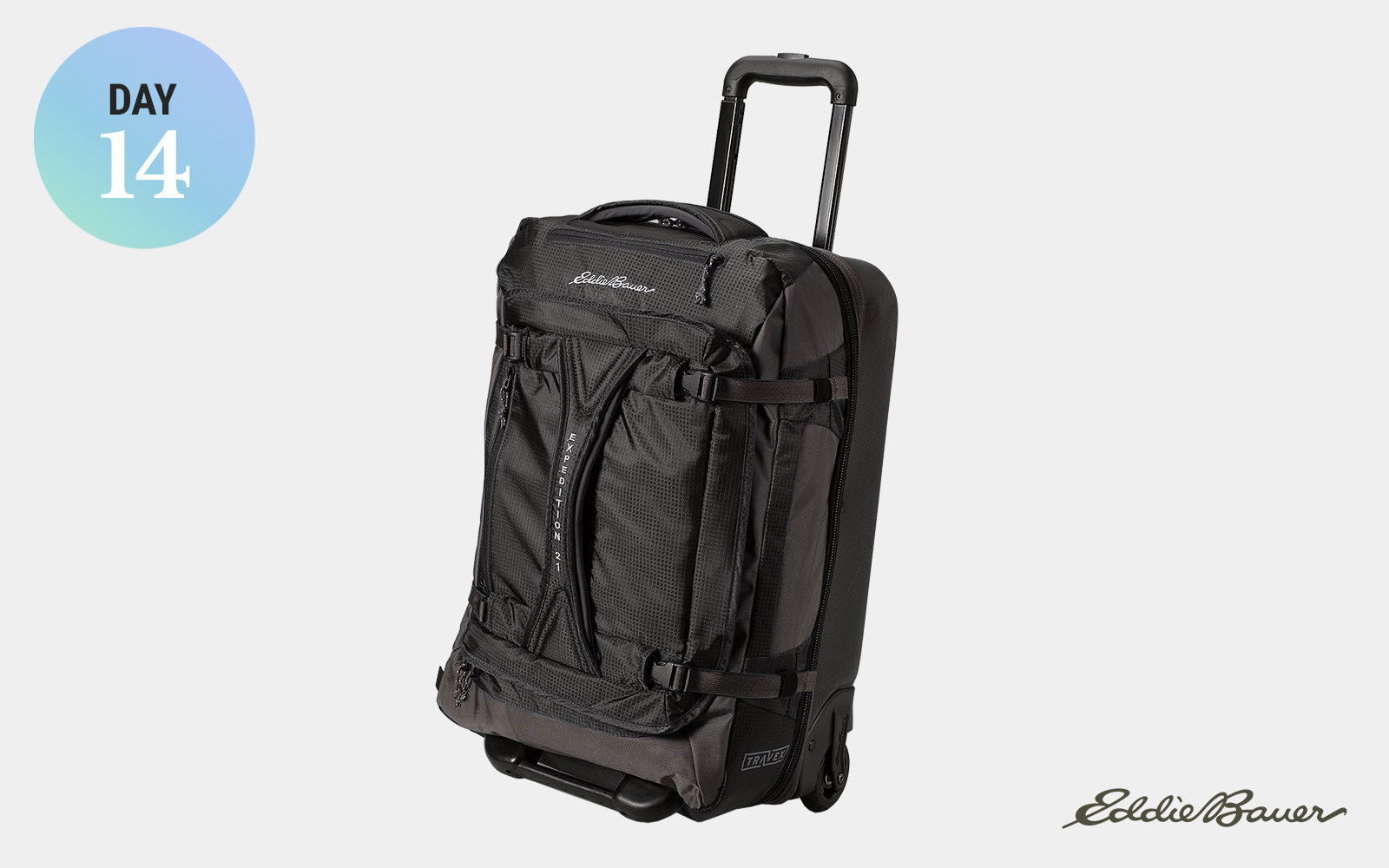 Eddie Bauer Expedition Drop Bottom Rolling Duffel