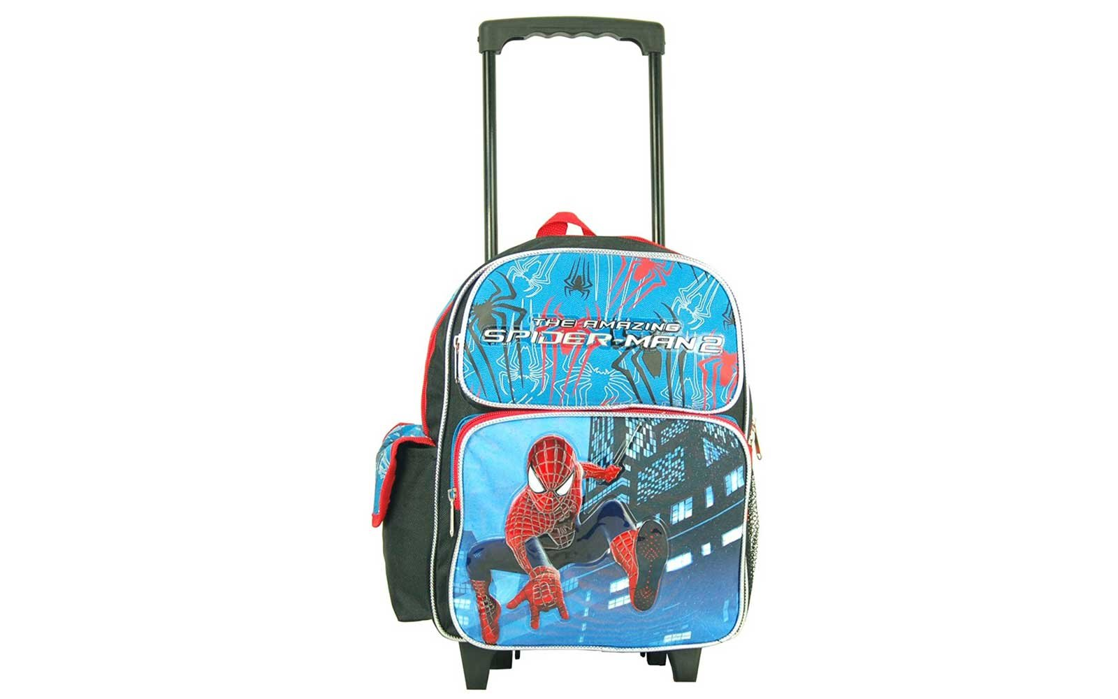Marvel the Amazing Spiderman Toddler 12-inch Rolling Backpack