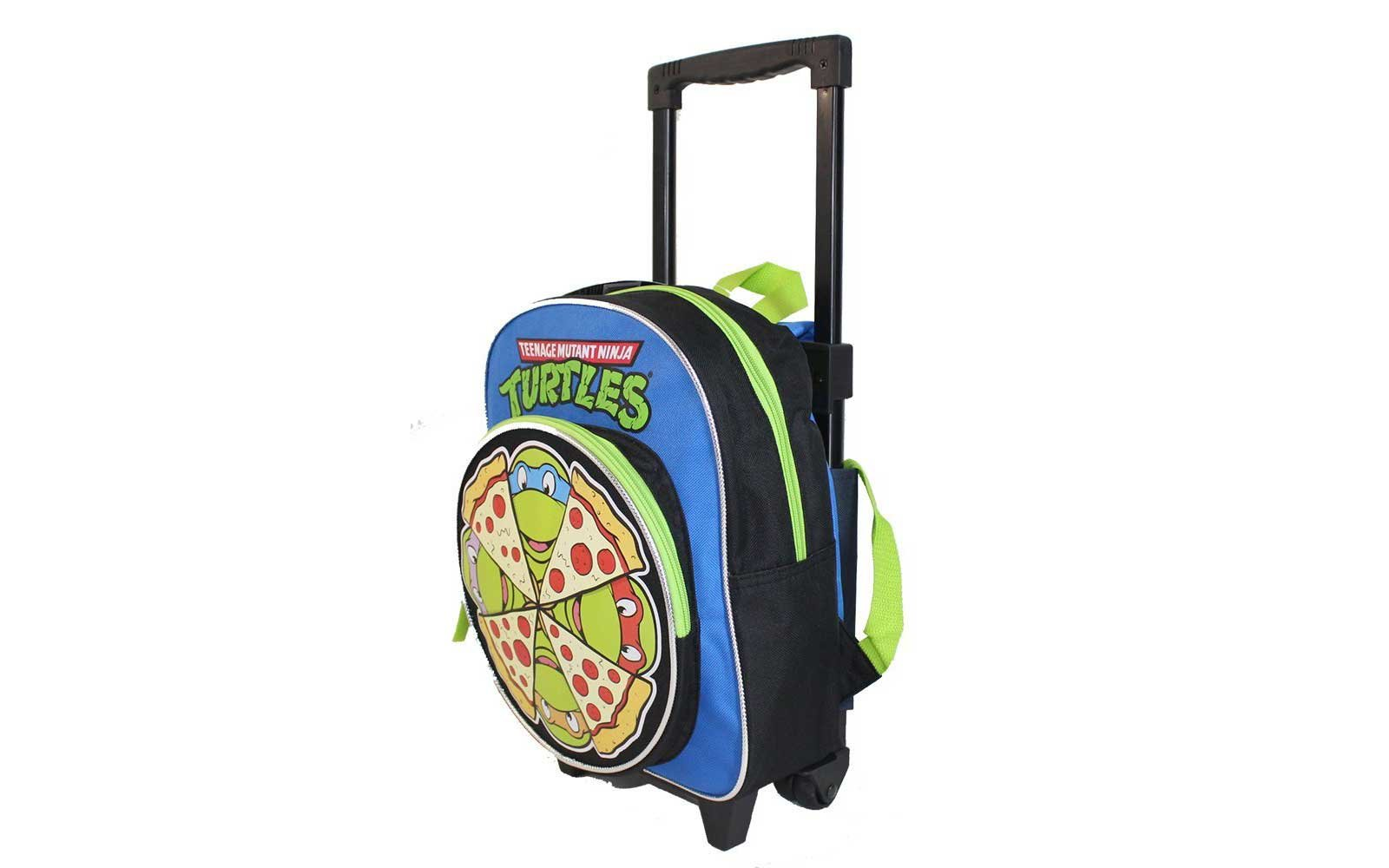 7e2b66bcab20 Ninja Turtles Toddler Rolling Backpack