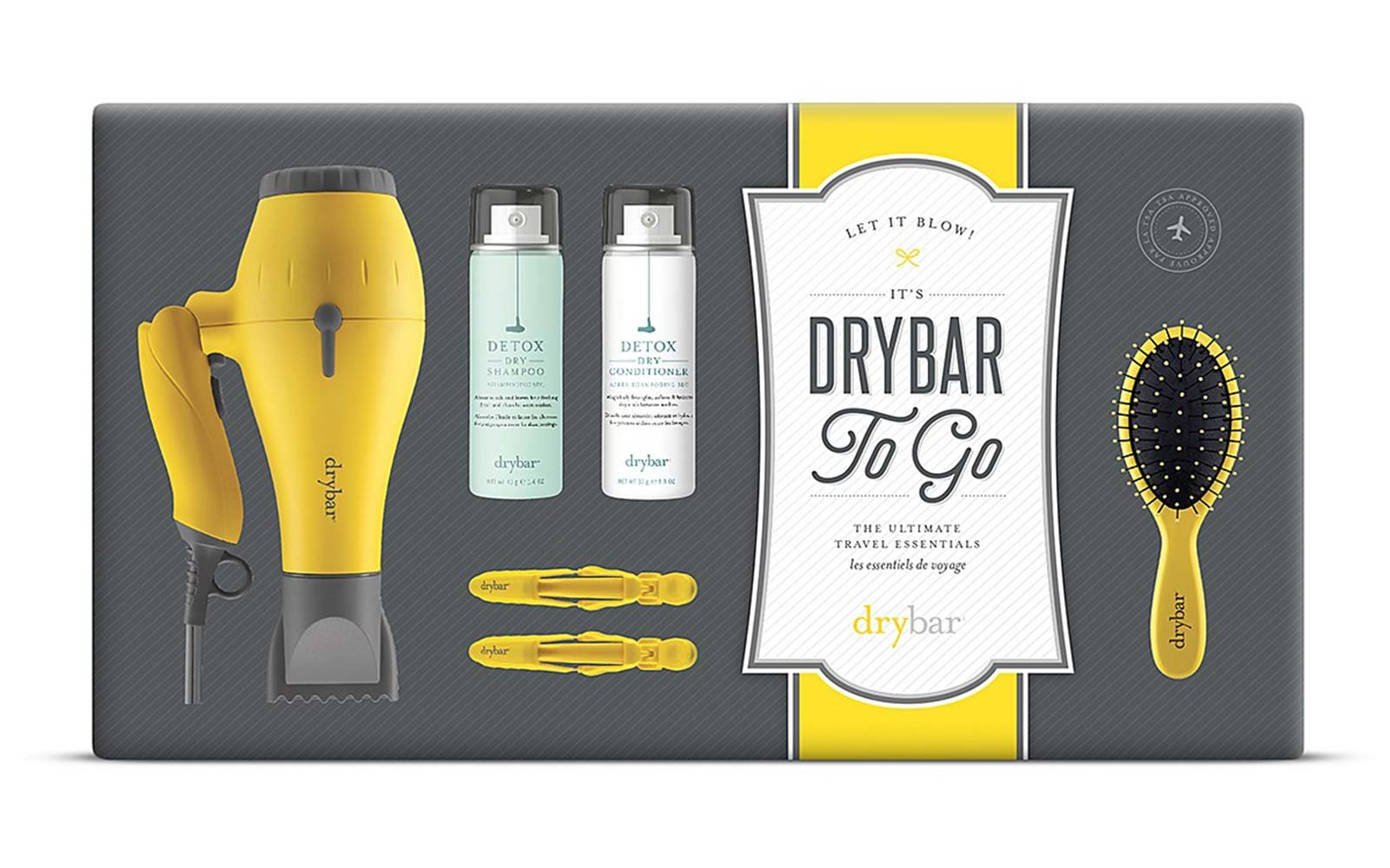 drybar to go ultimate travel essentials kit