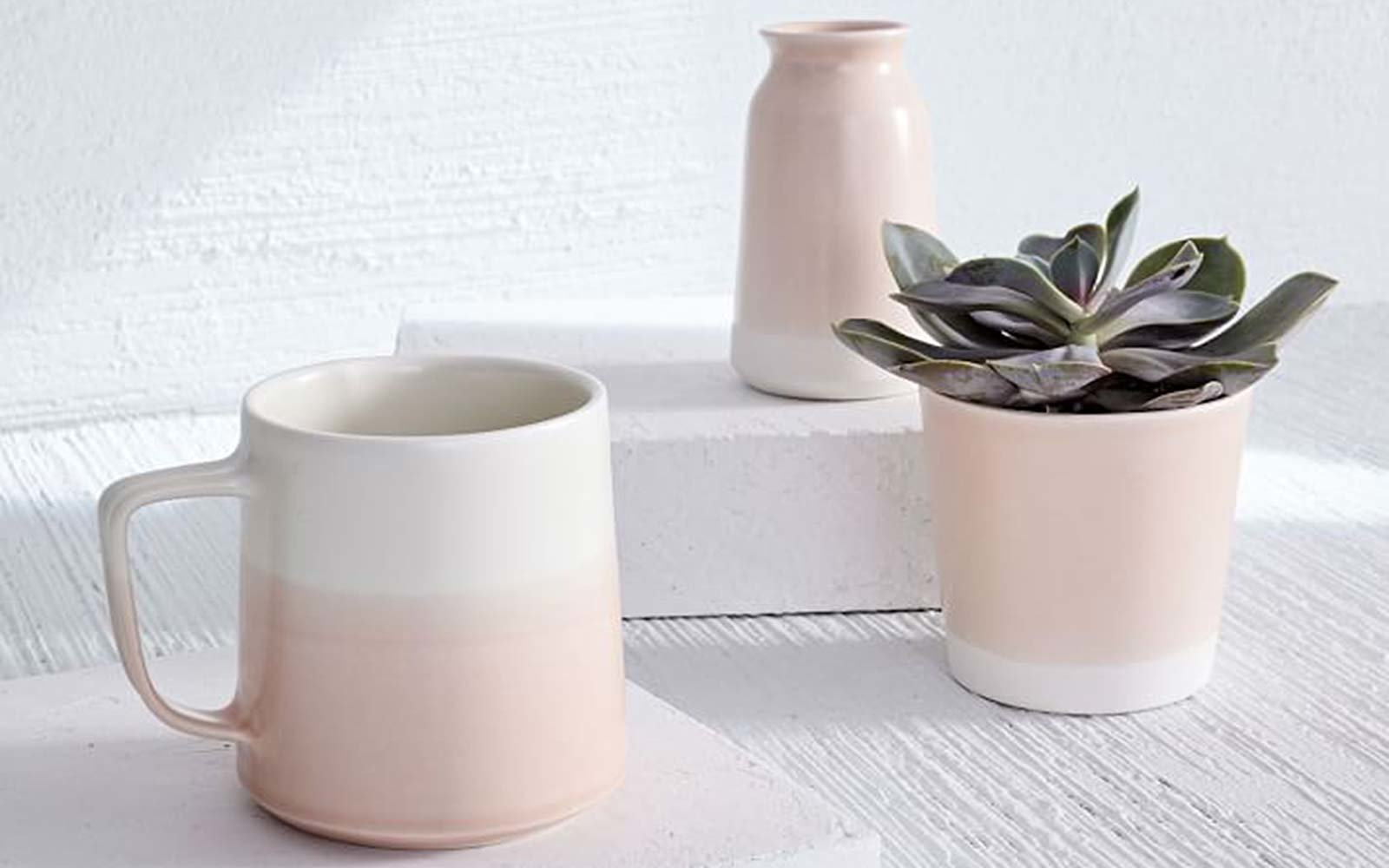Paper & Clay Mug, Vase, and Planter