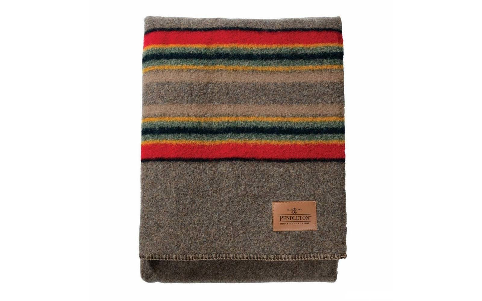 pendleton glacier park throw blanket