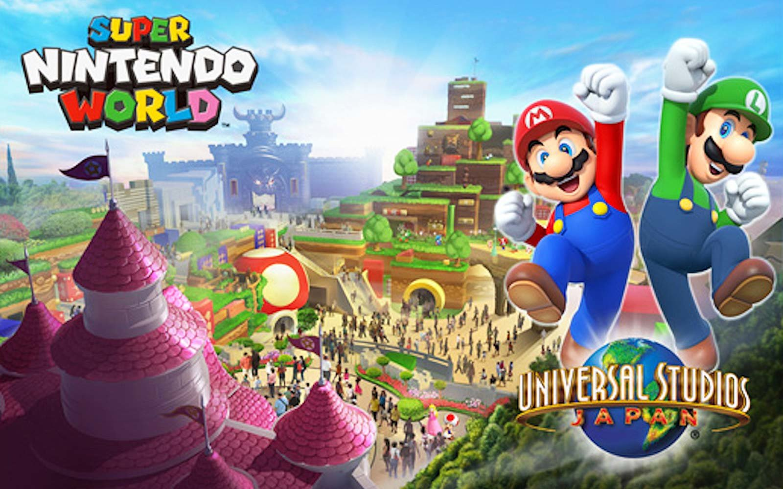 Super Nintendo World Universal Studios Japan