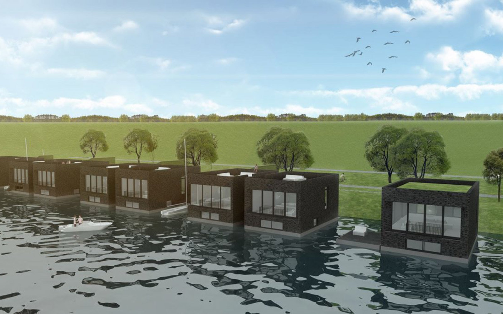 Waterstudio: Group of Floating Homes