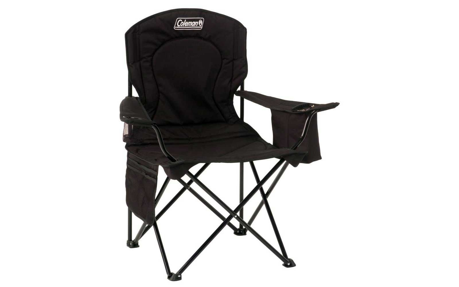 Coleman camping chair with cooler