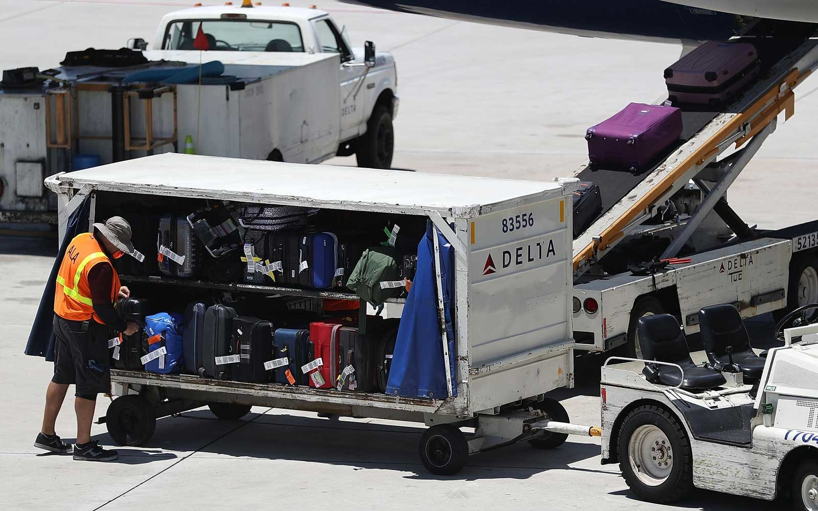Delta Checked Baggage