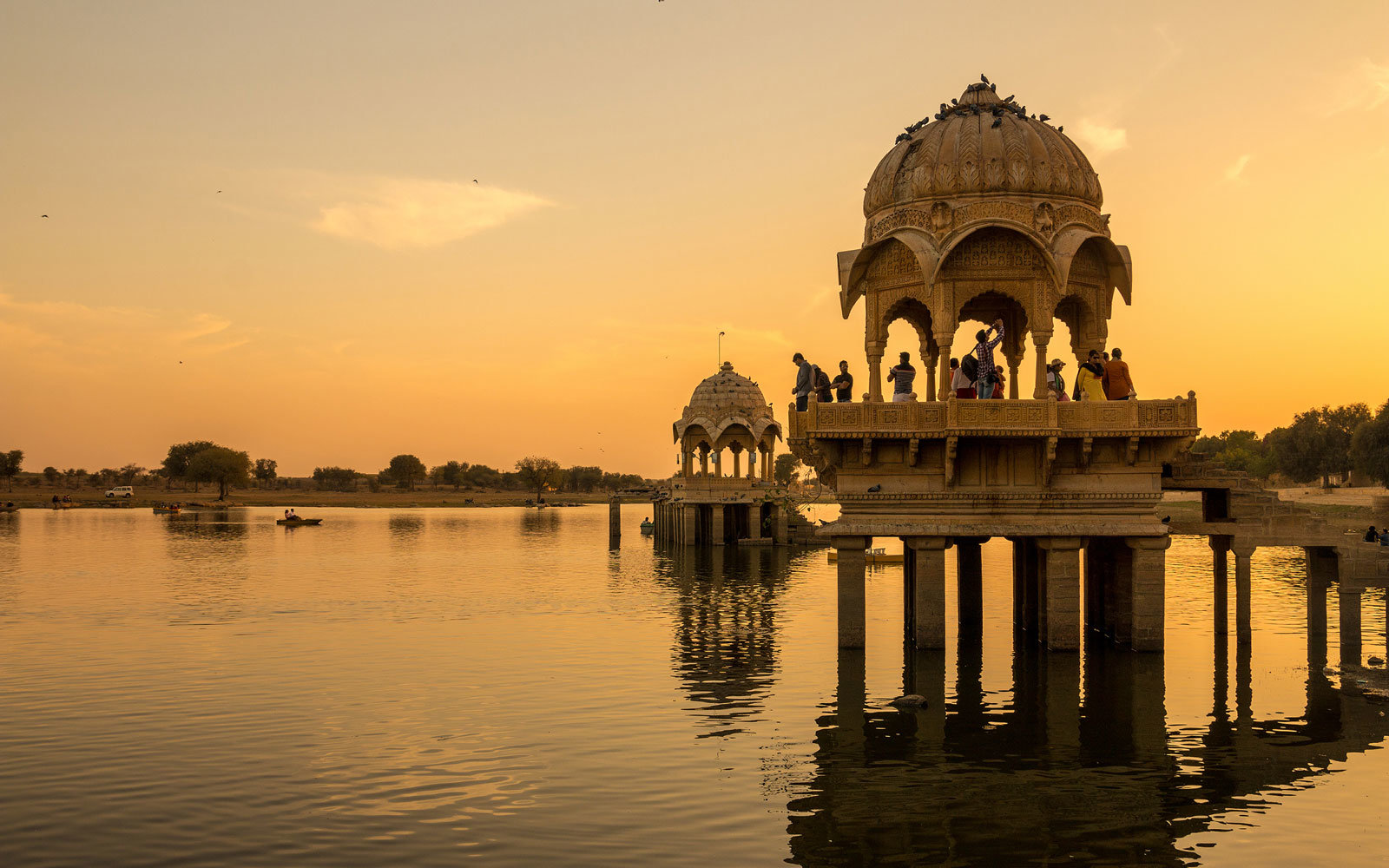 Sunset in Rajasthan, India