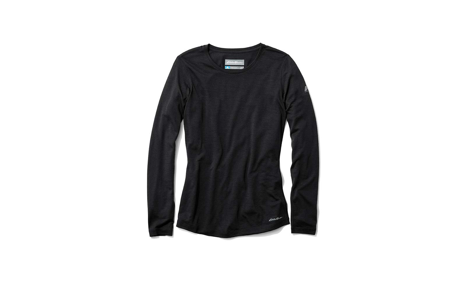 eddie bauer lighweight freedry long sleeve crew