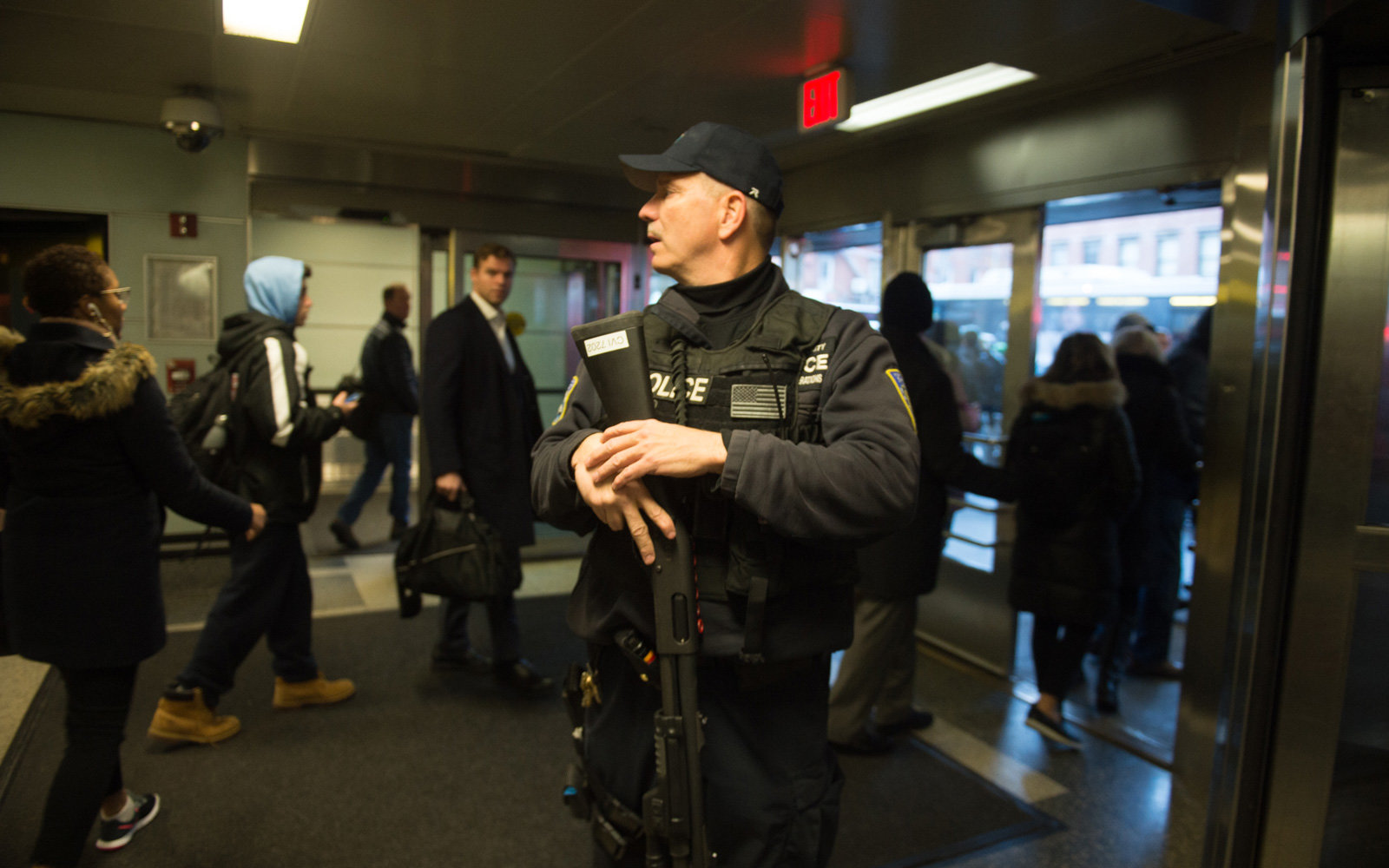 'Attempted terror attack' at NY subway