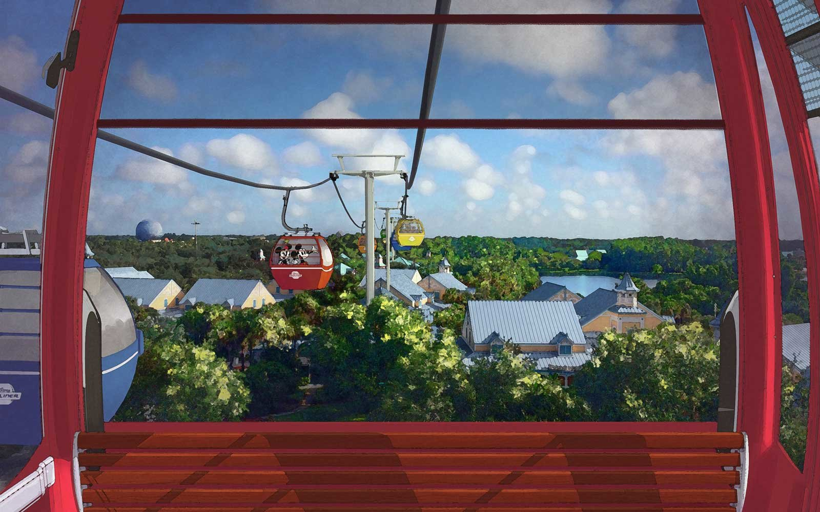 Disney World proposed gondola ride, Skyliner