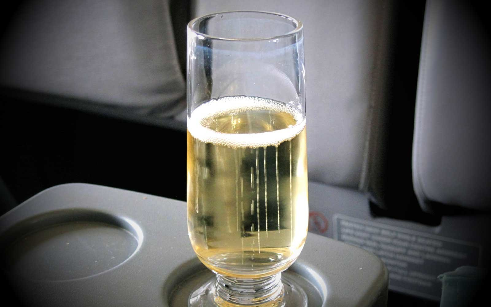 Airplane beverage