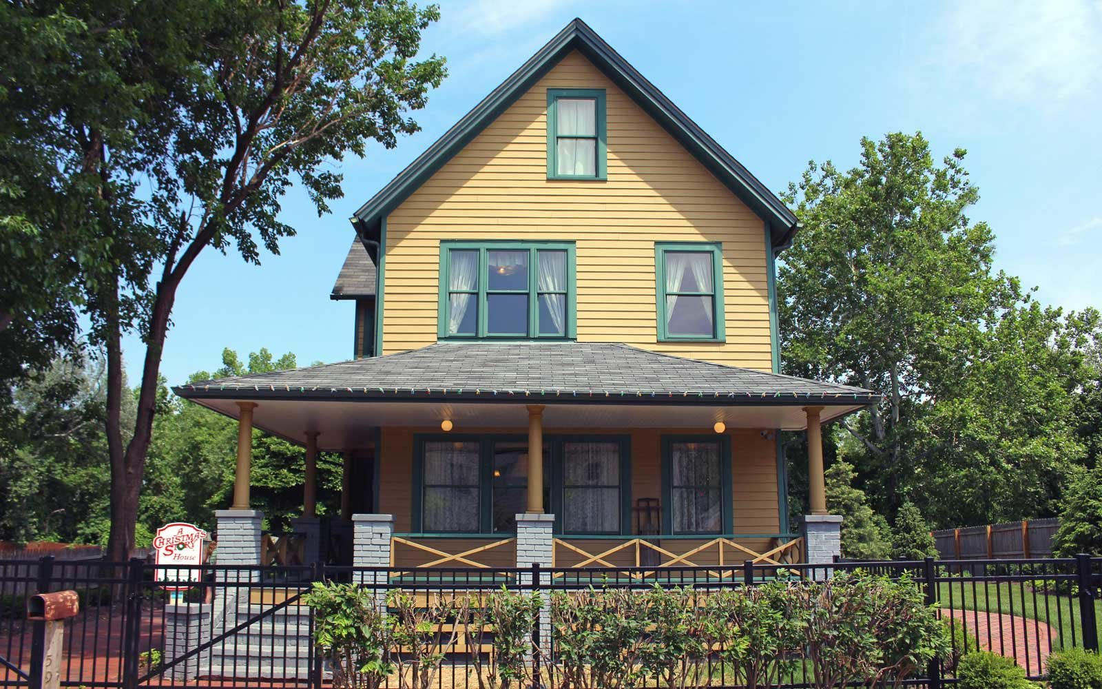 A Christmas Story house in Ohio