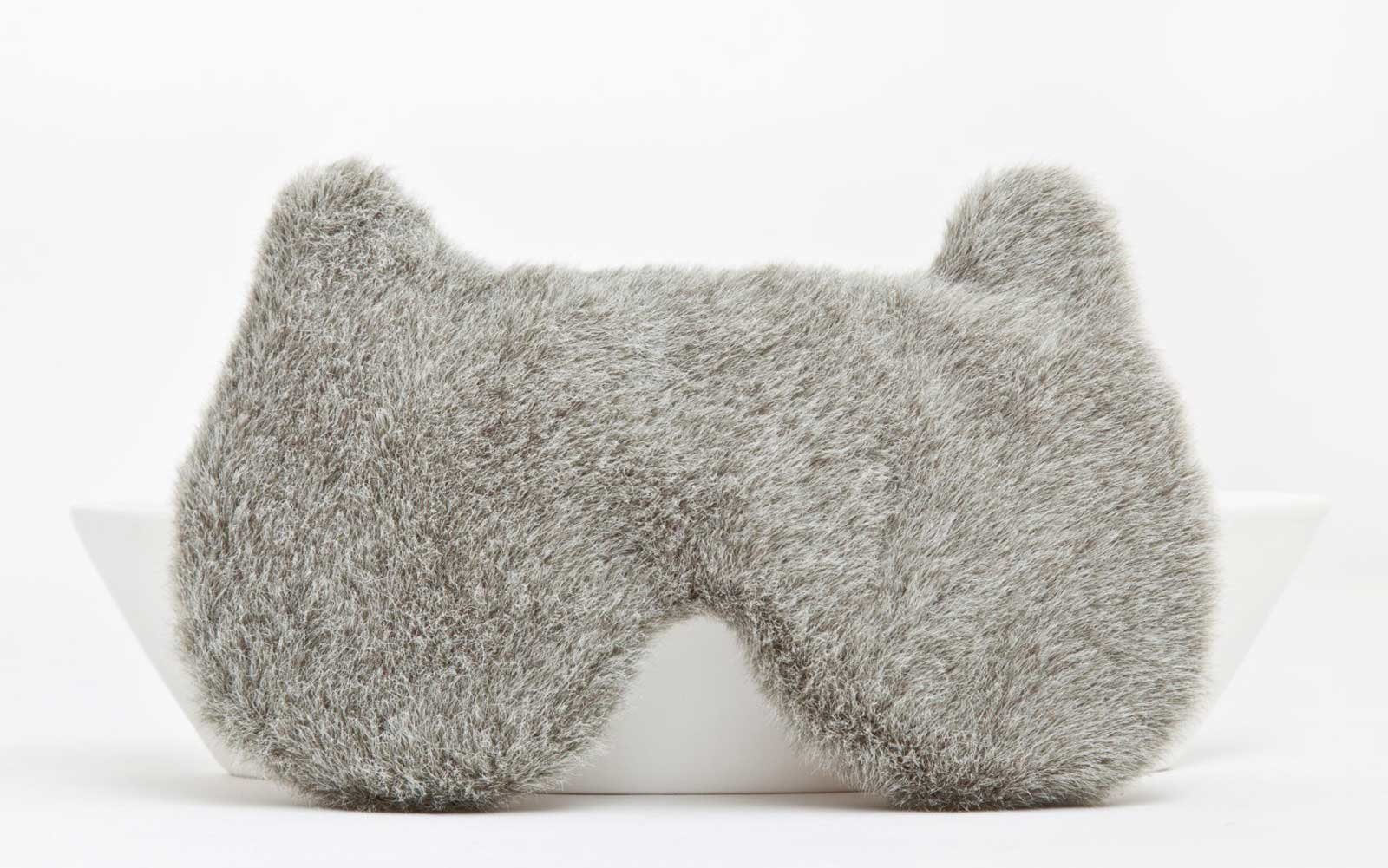 Fluffy Bear Sleep Mask