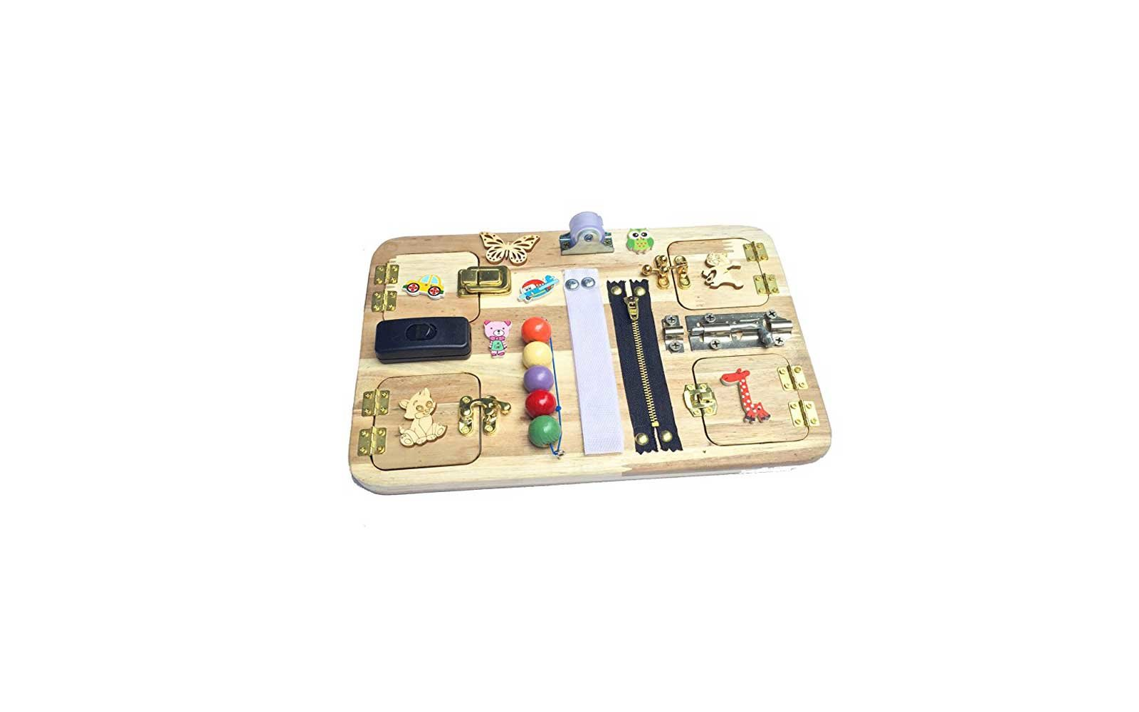 Travel Busy Board for Toddlers