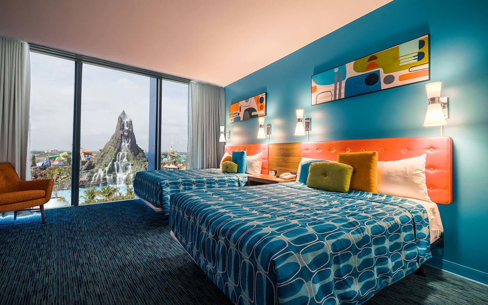 the most unique theme park hotel rooms in the world. Black Bedroom Furniture Sets. Home Design Ideas