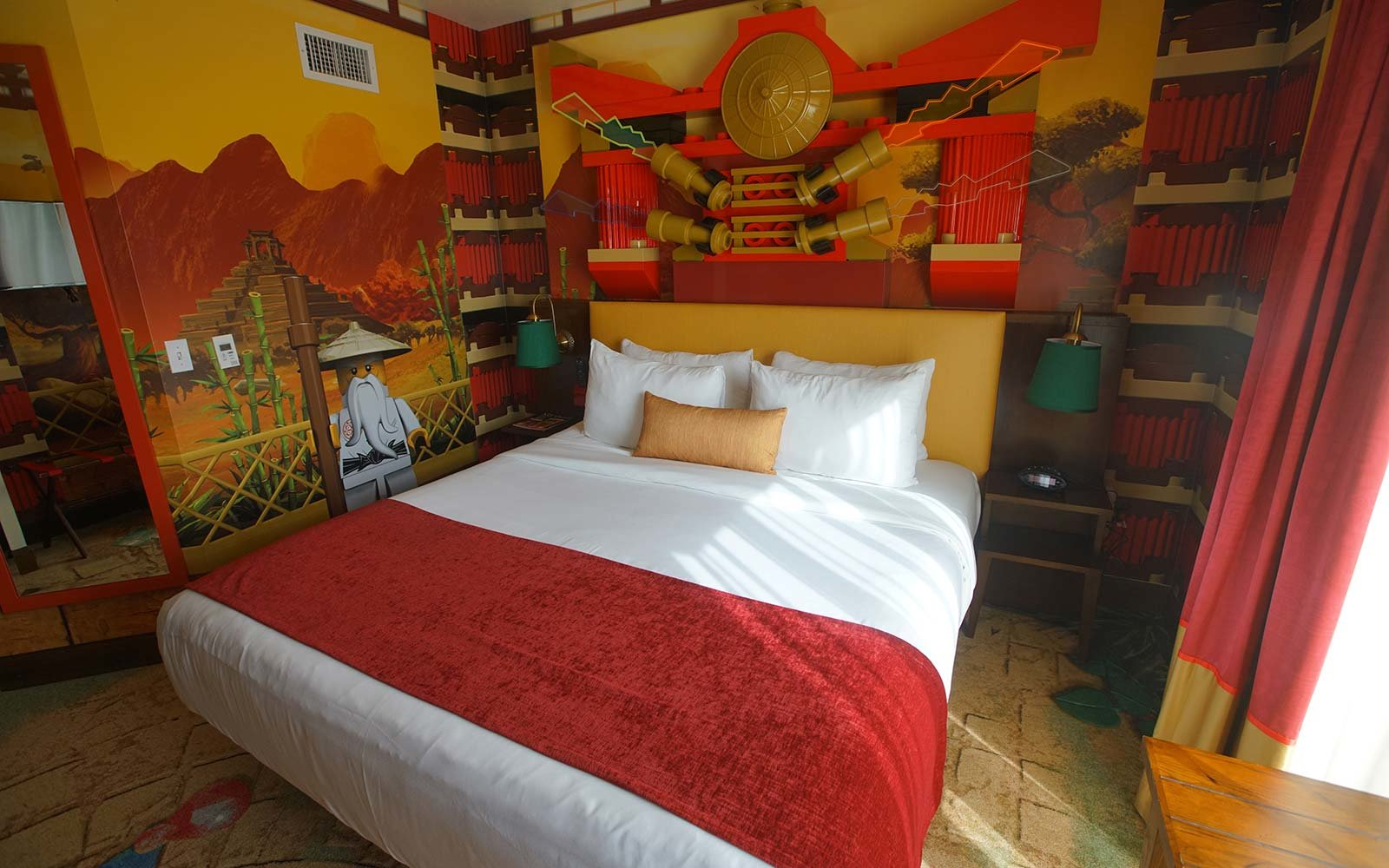The Most Unique Theme Park Hotel Rooms In The World