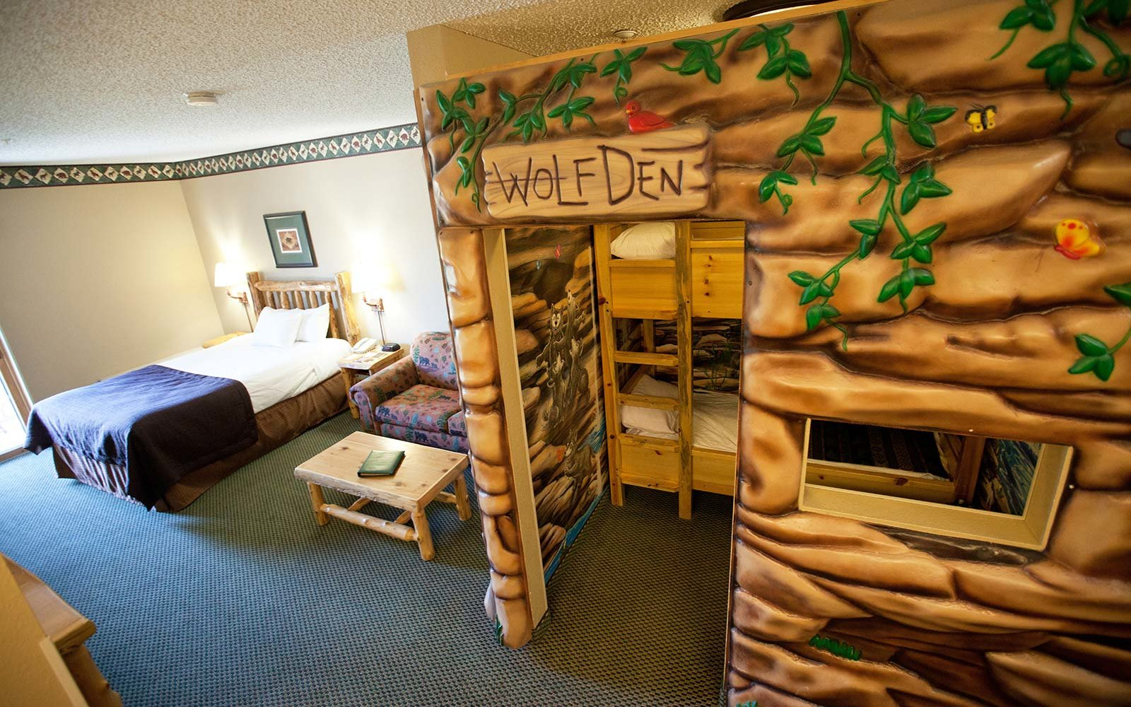 wolf den suite great wolf lodge