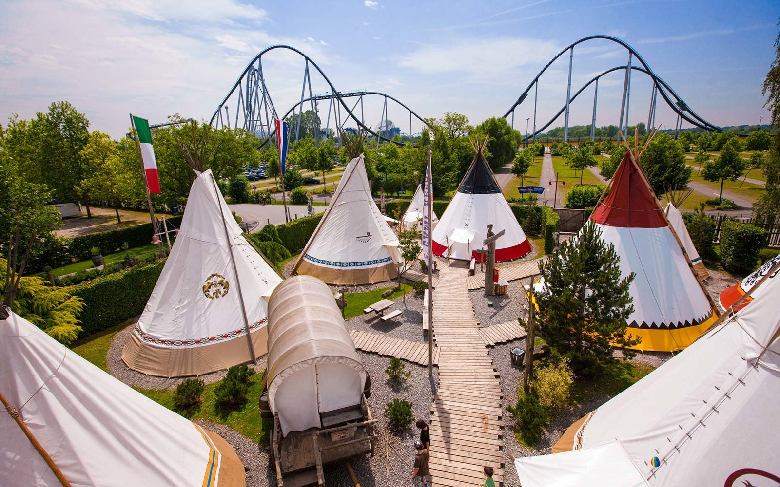 covered wagons camp resort europa park
