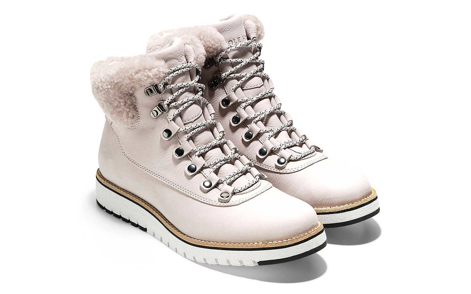 Nubuck hiker boots by Cole Haan