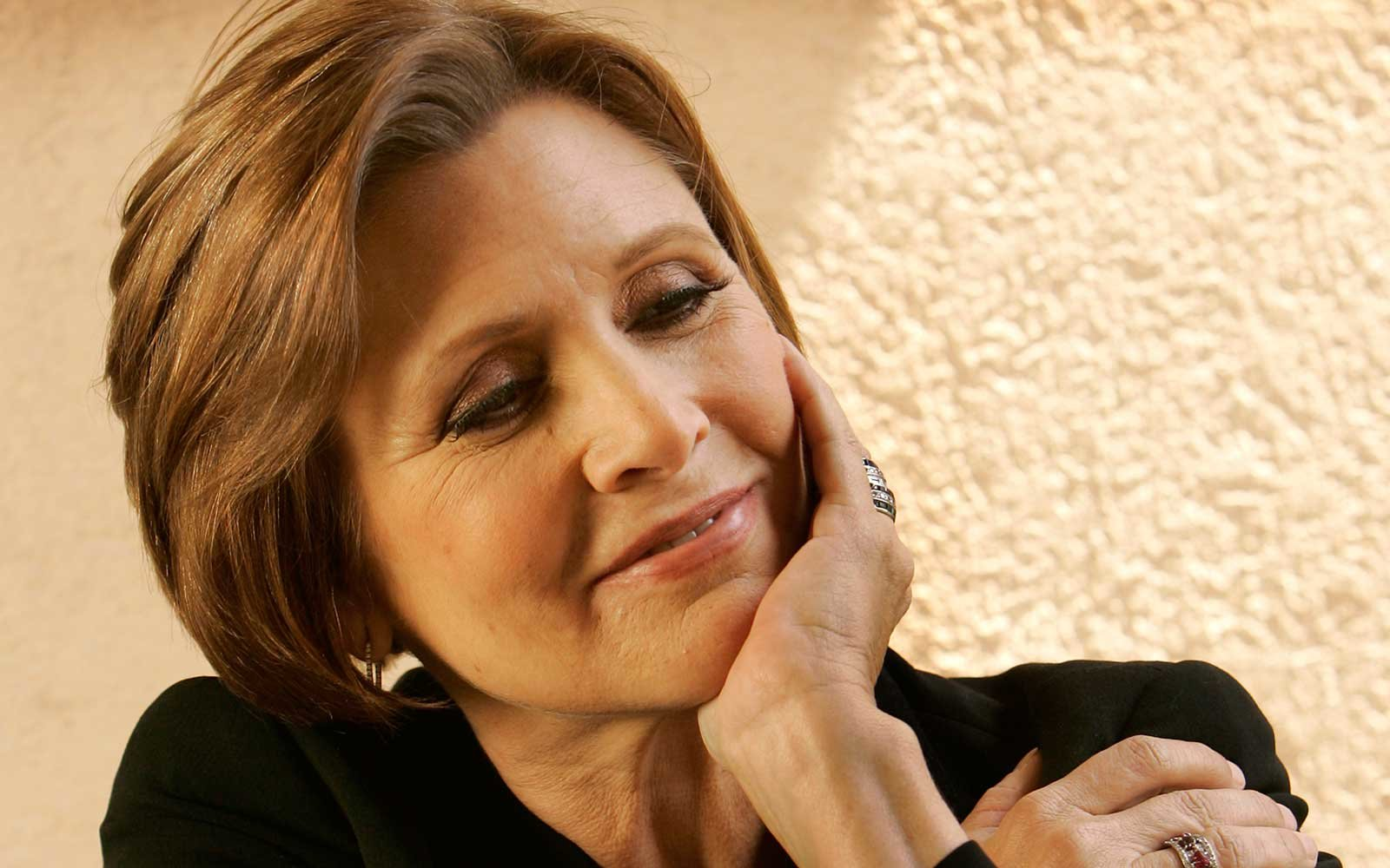 Carrie Fisher in 2007