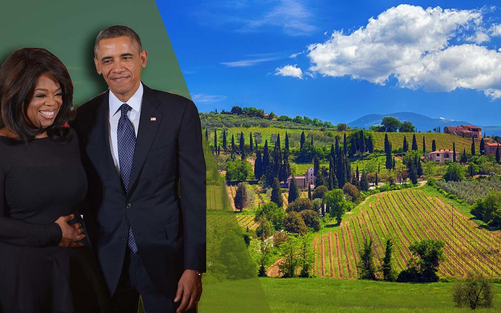 Access Italy tour guide Barack Obama Oprah Winfrey