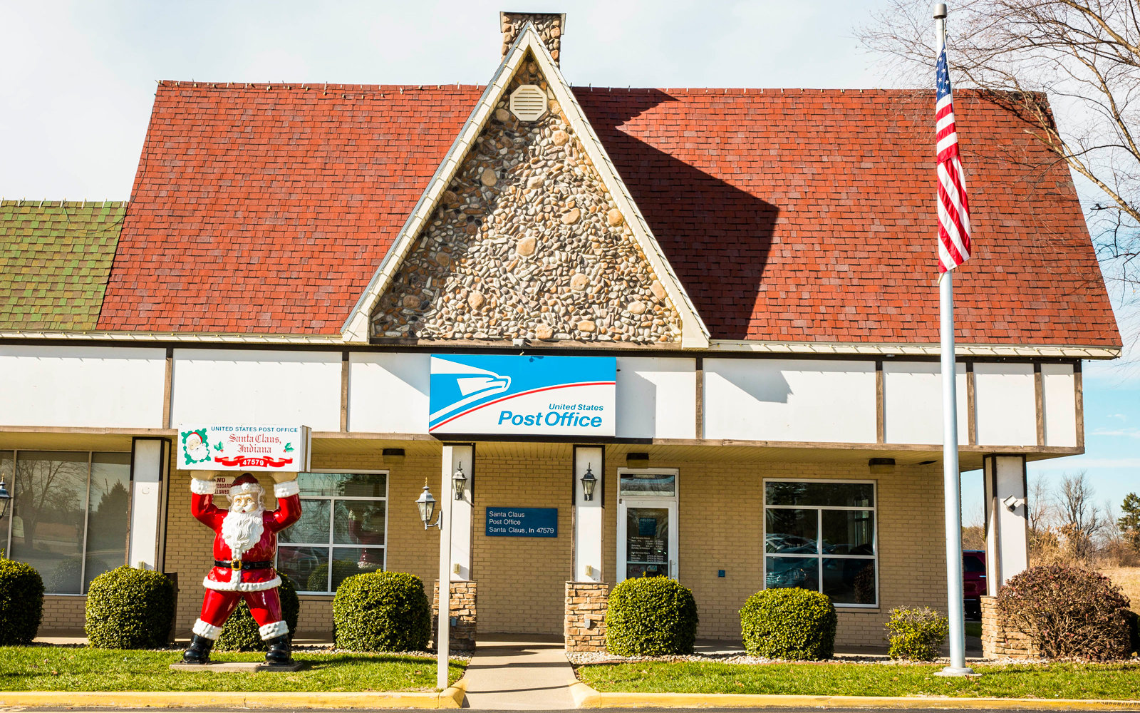 Post office in Santa Claus, Indiana