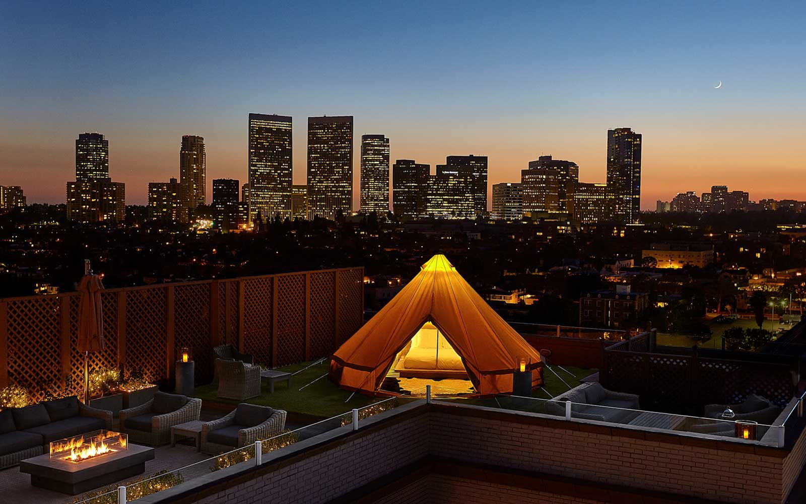 Urban Glamping Beverly Hills