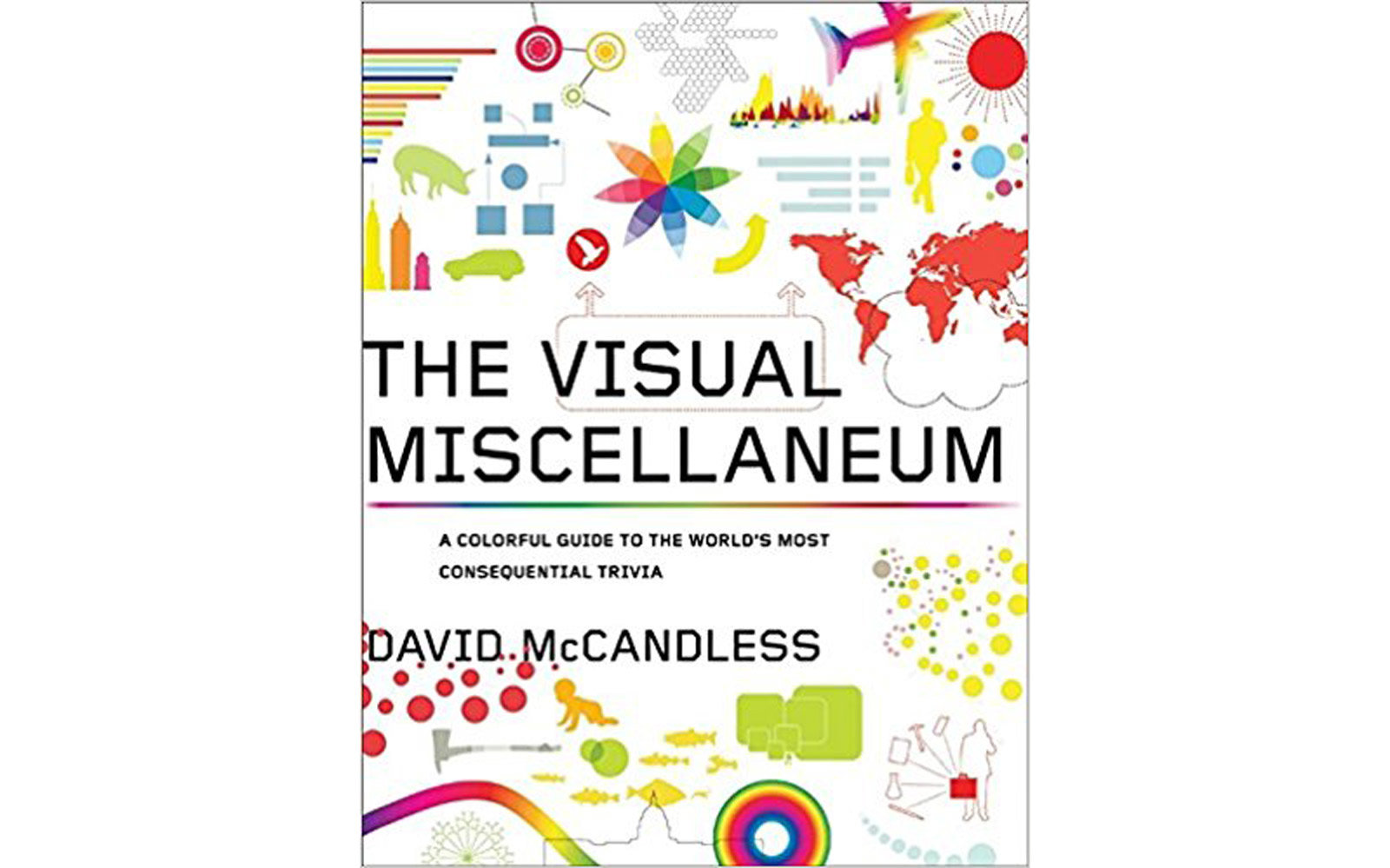 'The Visual Miscellaneum: A Colorful Guide to the World's Most Consequential Trivia' by David McCandless