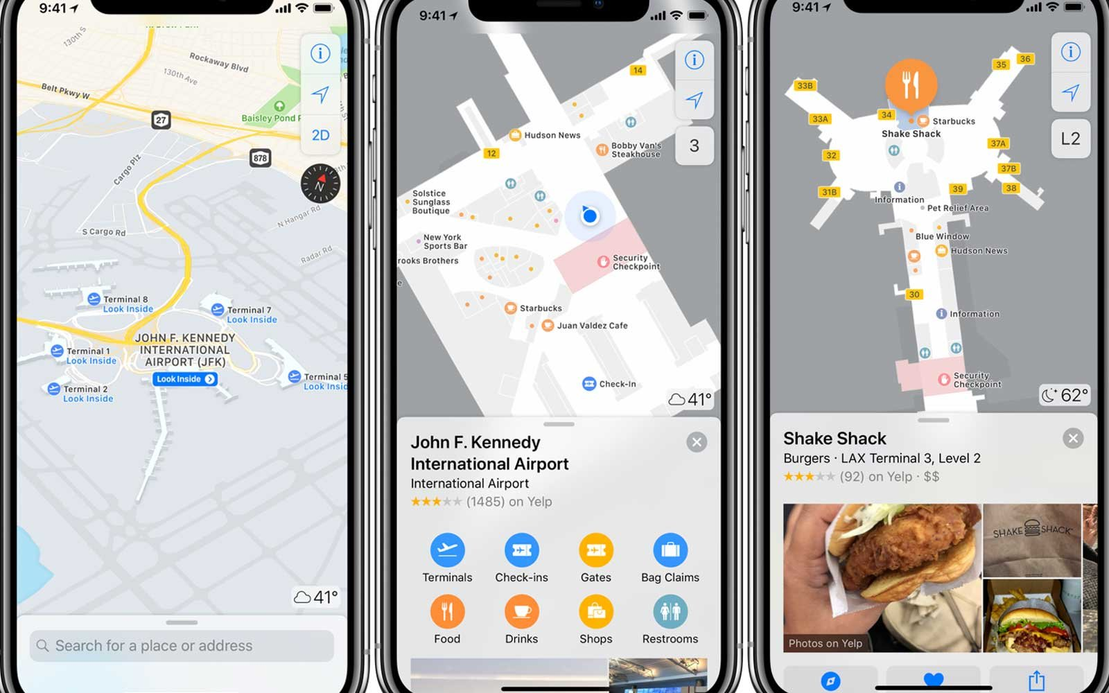 Apple's New Indoor Maps Will Help You Navigate Airports Like ... on open map, print map, scroll map, contact us map, zoom map, click map, measure map,