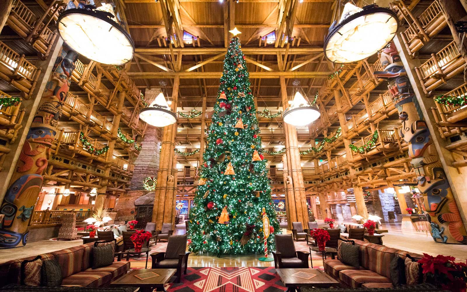 Disney World S Wilderness Lodge Is The Best Place To Spend Christmas At The Park Travel Leisure