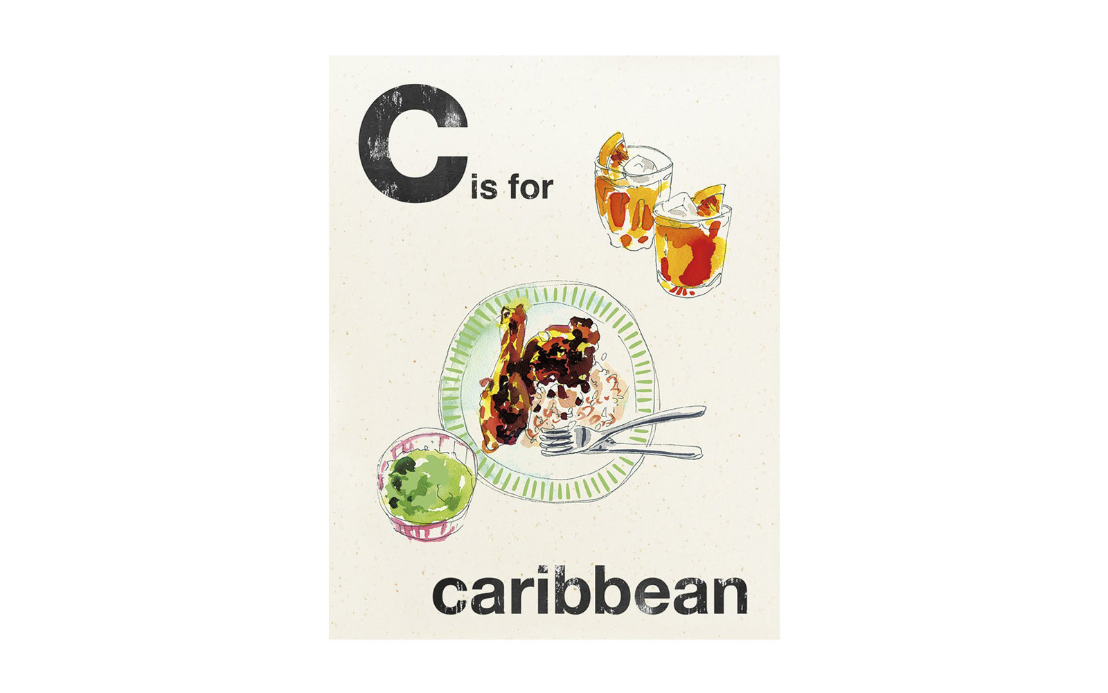C is for Caribbean, by Quadrille
