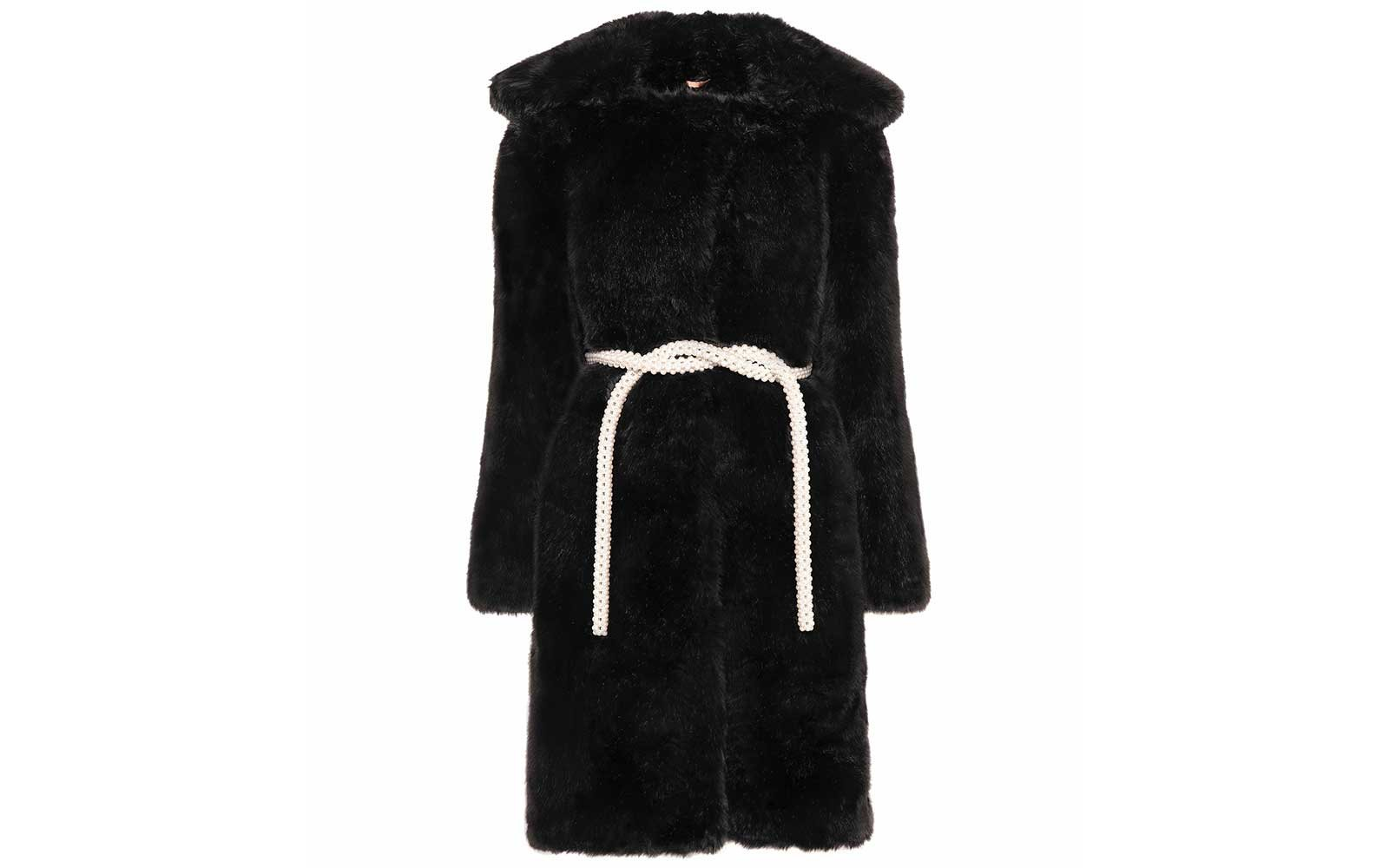 Faux fur cot by Shrimps