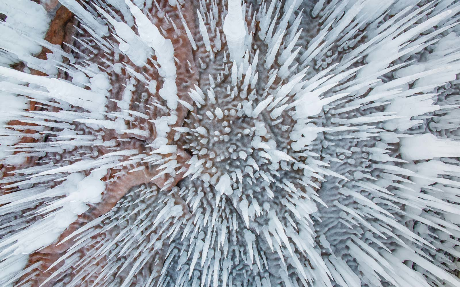Ceiling Ice Cave, Apostle Island Ice Caves, Wisconsin