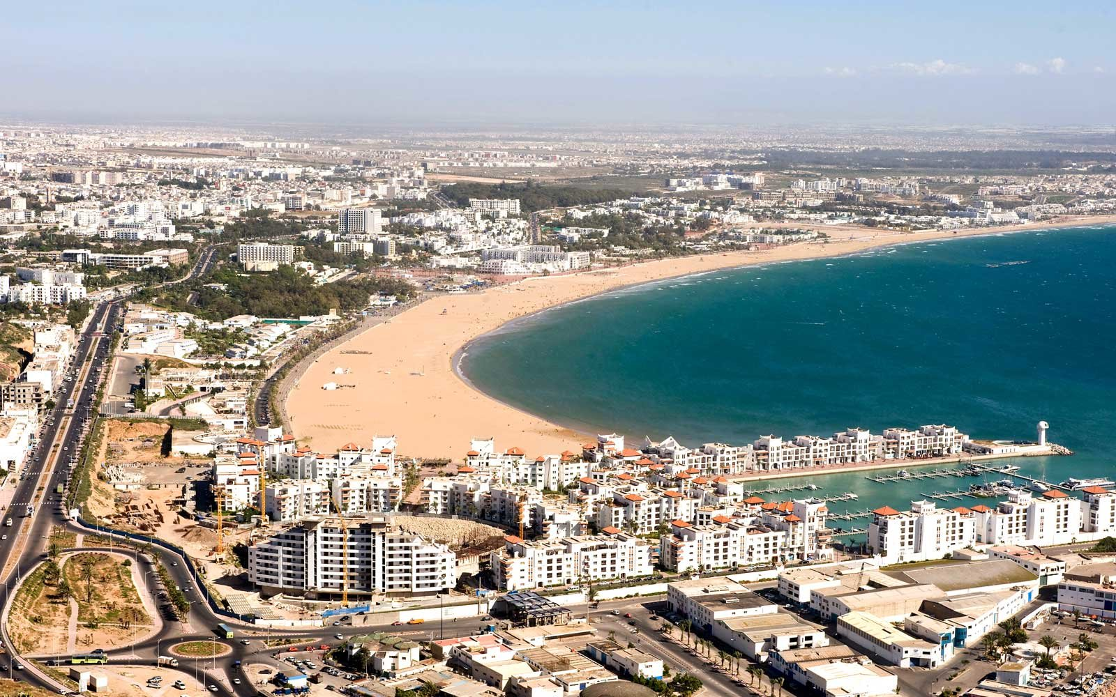 Agadir, seaside resort in Southern Morocco