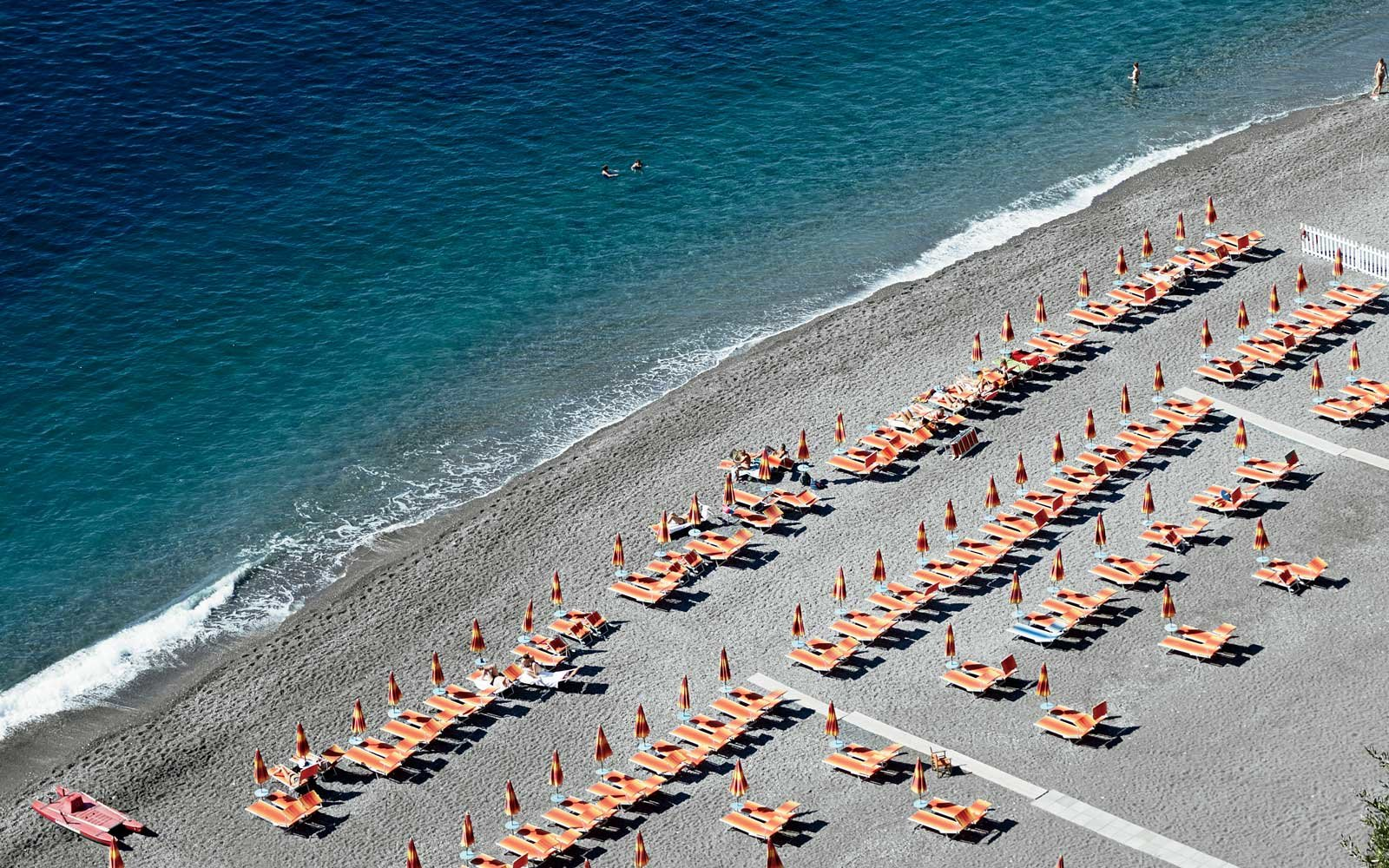 Marina Grande beach on Italy's Amalfi Coast