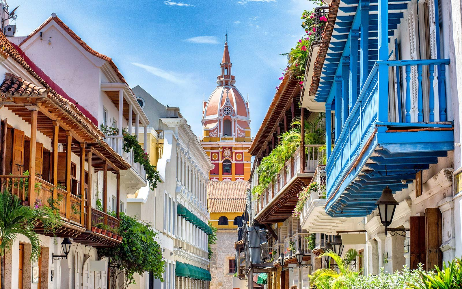 Cartagena Colombia Travel Destination architecture