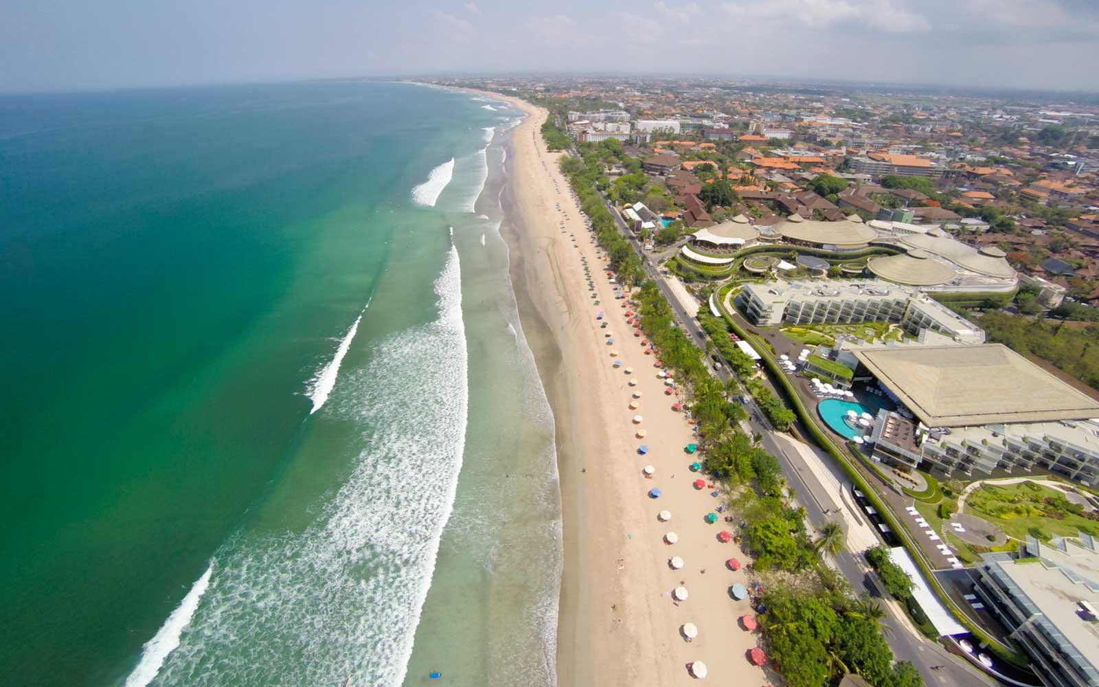 Kuta Beach is the most famous beach, also the most popular and renowned place in Bali.
