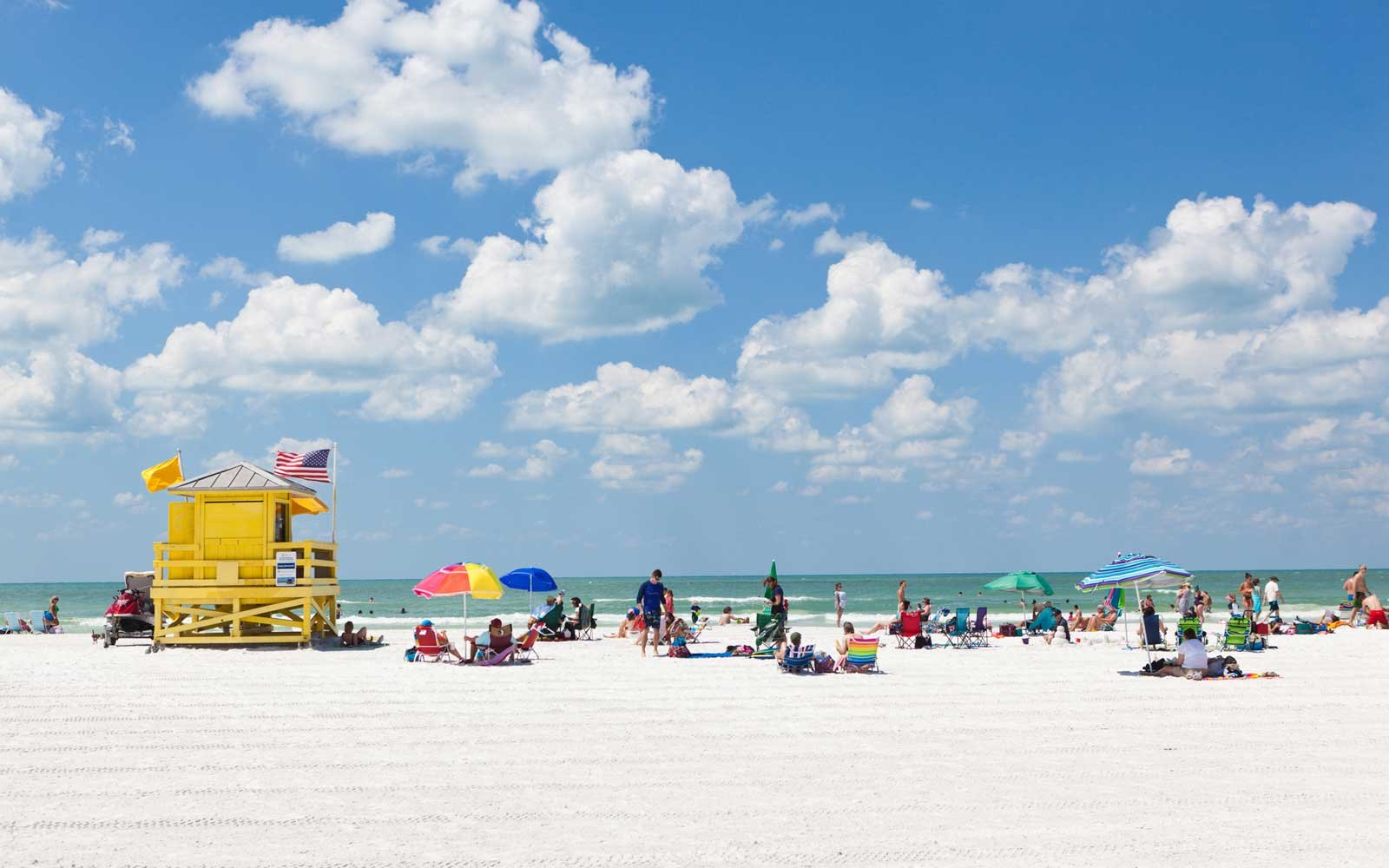 Siesta Key Beach of Florida Gulf Coast