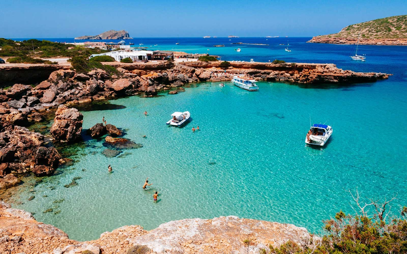Cala Comte beach, Balearic Islands, Spain