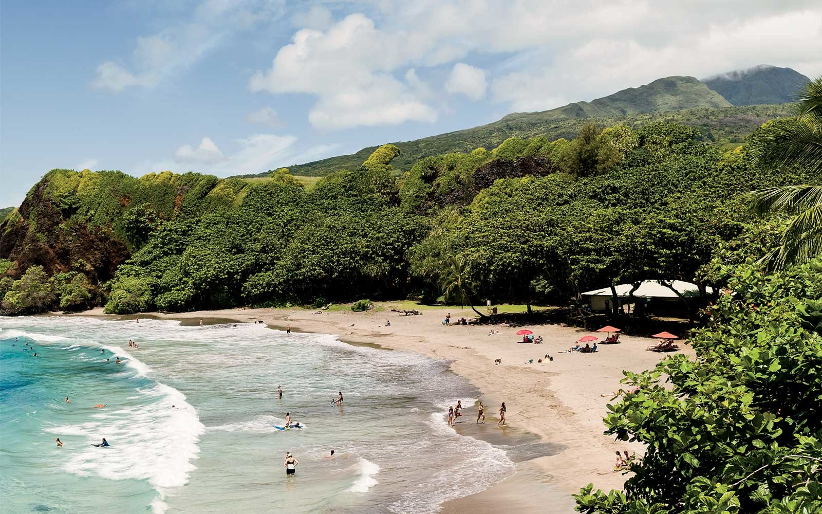 Homoa Beach, in Maui
